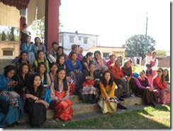 110307 3rd Losar Day at Lingtsam 015