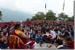 111019 Gangtok Ngor Gompa Anniversary 267