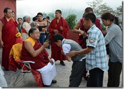 111019 Gangtok Ngor Gompa Anniversary 292