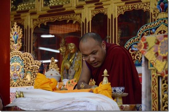 120901 Sakya Kilaya Puja and Karmapa 111